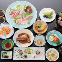 *海鮮フェア(夕食一例)当館料理長おすすめ♪駿河湾近海の新鮮海鮮料理を堪能できるプランです。