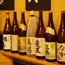 飲兵衛の館主が厳選した群馬の地酒をはじめ、希少な焼酎やワインなどお酒も各種取り揃えております。