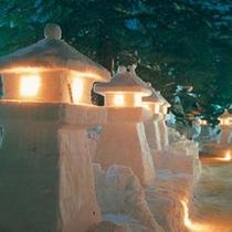 *上杉雪灯篭まつり