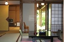檜風内呂付2間客室