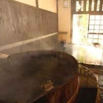 内風呂 樽風呂