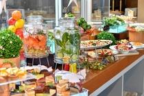 森のレストランMARCHERANT_ビュッフェレーン