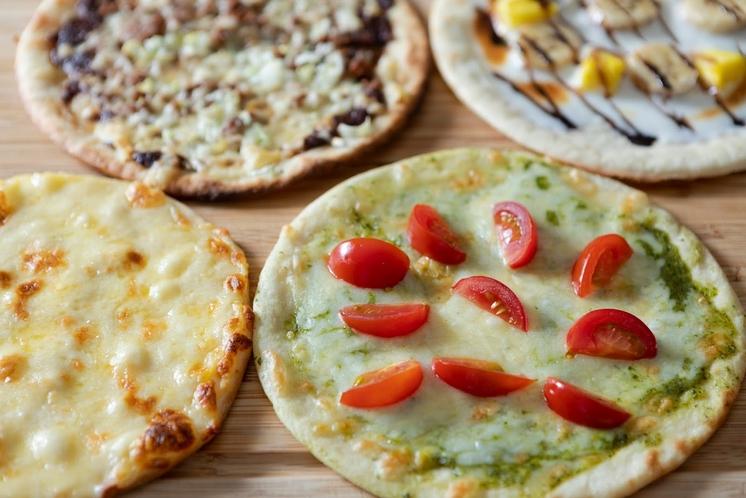 森のレストランMARCHERANT_石窯ピザ