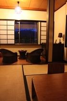 天橋立を眺める和室