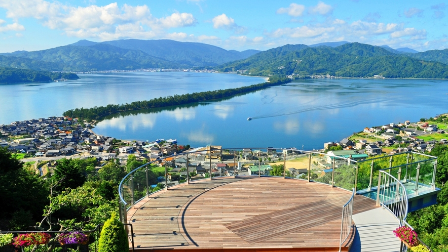 日本三景「絶景の天橋立」 傘松公園