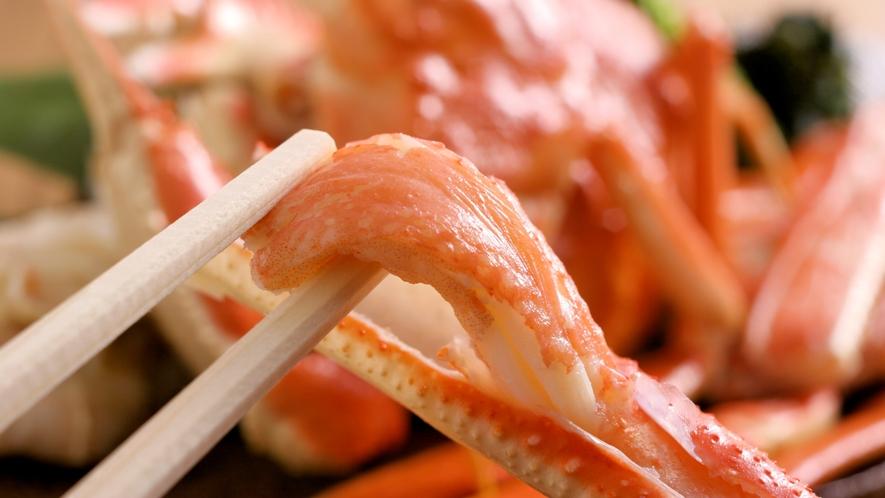 かに茹で蟹