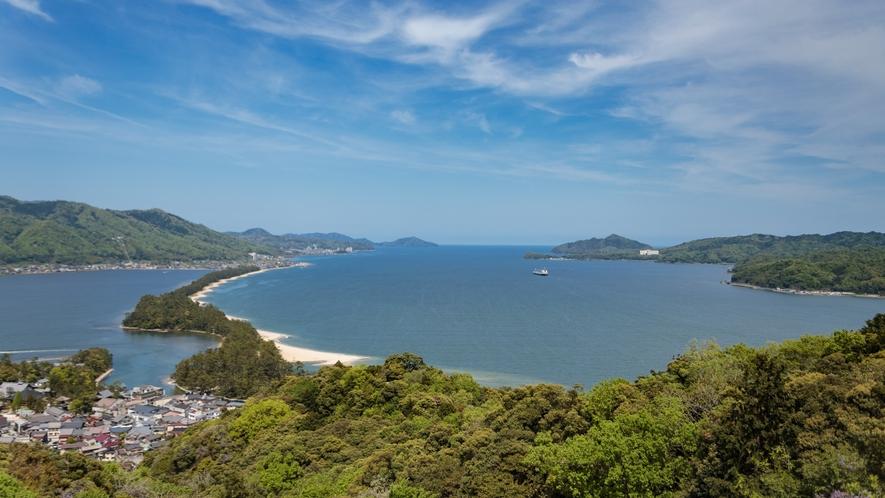 絶景の日本三景「天橋立」