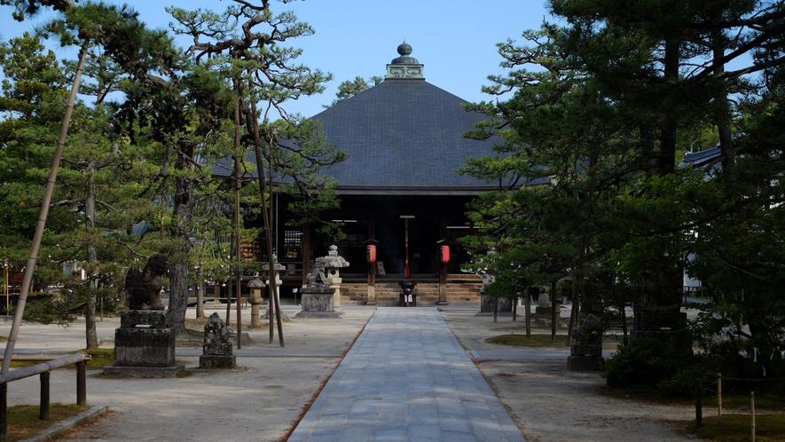 日本三文殊の一つ 智恩寺