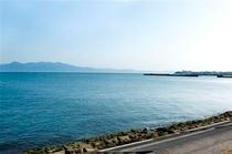 潟山倶楽部から少し海岸へお散歩