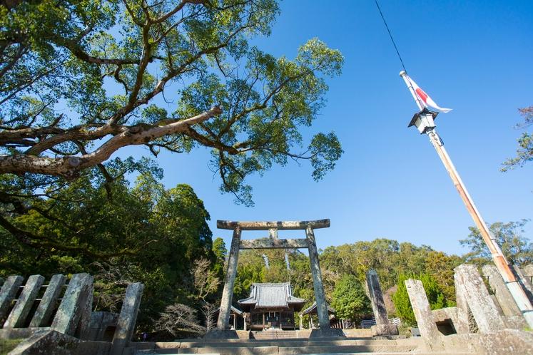 【周辺】島津家ゆかりの地、日新寺跡の「竹田神社」は当館より車で20分です