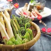 お料理(山菜)