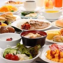 和洋バイキング朝食 イメージ