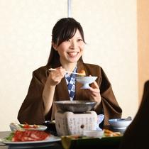 ◇ご家族、ご友人と、美味しいお料理で楽しいひと時をお過ごしください。