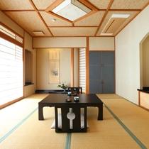 ◇二間の広々和室は、3世代やグループのお客様にぴったりです。ゆったりとお使いくださいませ。