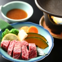 ◇信州牛ステーキ陶板焼き