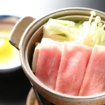 ◇柔らかい豚肉をすき焼きでも。ビタミンB1が豊富です。