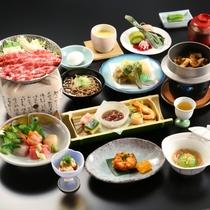 ◇信州牛すき焼き会席膳(一例)