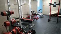 本格トレーニングルーム完備!