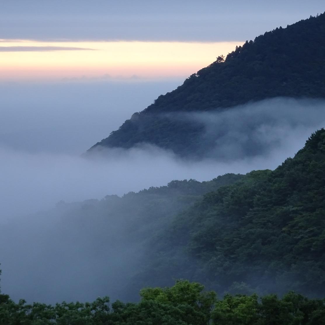 【雲の上の深山】
