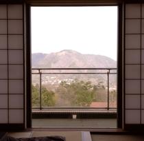 大文字側客室からの景色(一例)