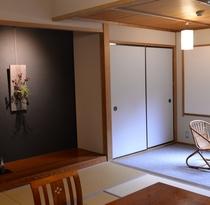 【和室1間38平米】林側10畳+広縁