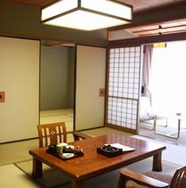 【和室2間60平米】大文字側10畳+6畳+広縁