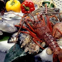 新鮮な魚介類♪