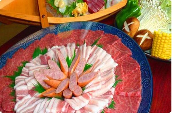 【秋冬旅セール】★A-COURSE41周年記念還元プラン】焼肉の鉄板焼&お刺身付きプラン♪