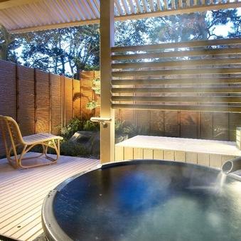 ◆別邸美悠[庭園側]63平米和洋特別室 (温泉露天風呂付)