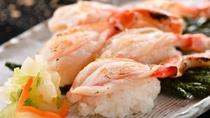 蟹炙り寿司5貫