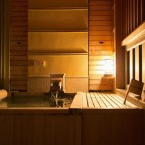[悠々・遥々の階]客室温泉露天風呂