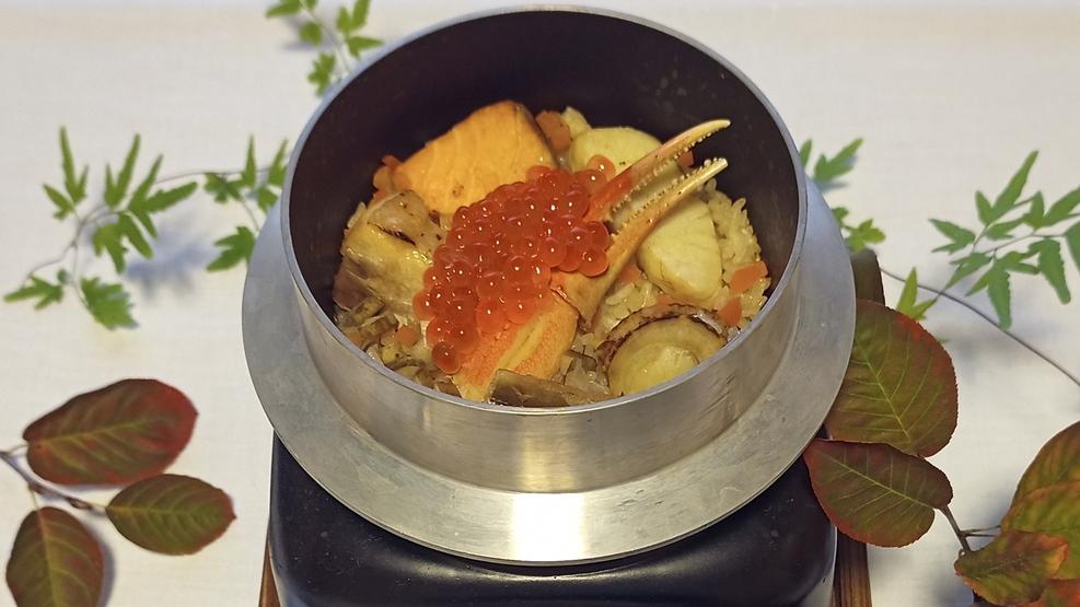 特選釜飯(一例)