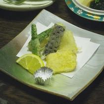 *【ご夕食一例】季節の天麩羅