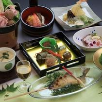 *【ご夕食一例:夏会席】季節の味覚をお届けいたします