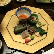 *【ご夕食一例】料理長が腕を振るう奈良の味をご賞味ください