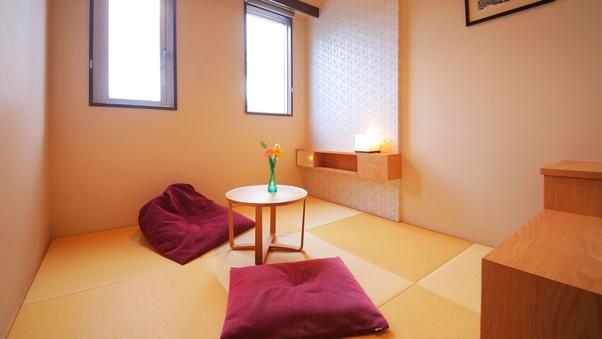 【琉球畳の和室◇1名利用◇禁煙】〜エアウィーヴ導入〜