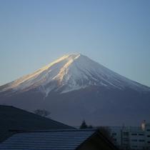 富士山〜夏の朝焼け〜