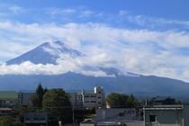 富士山側客室からの眺望