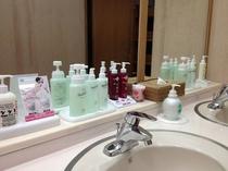 大浴場・女性洗面台