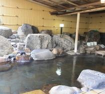 男性用岩風呂
