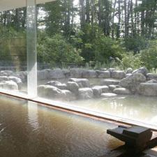 清里の温泉施設「丘の公園 天女の湯」