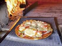 のどか村の手作りピザ