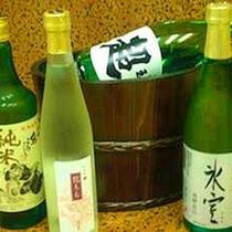 地酒の数々
