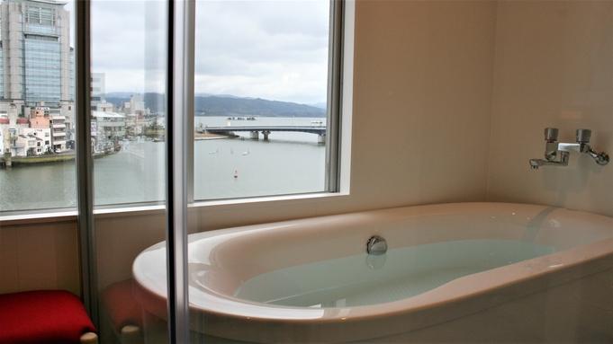 【朝弁当付】お得に平日50歳以上♪宍道湖展望風呂付DXルームで天然温泉を満喫♪