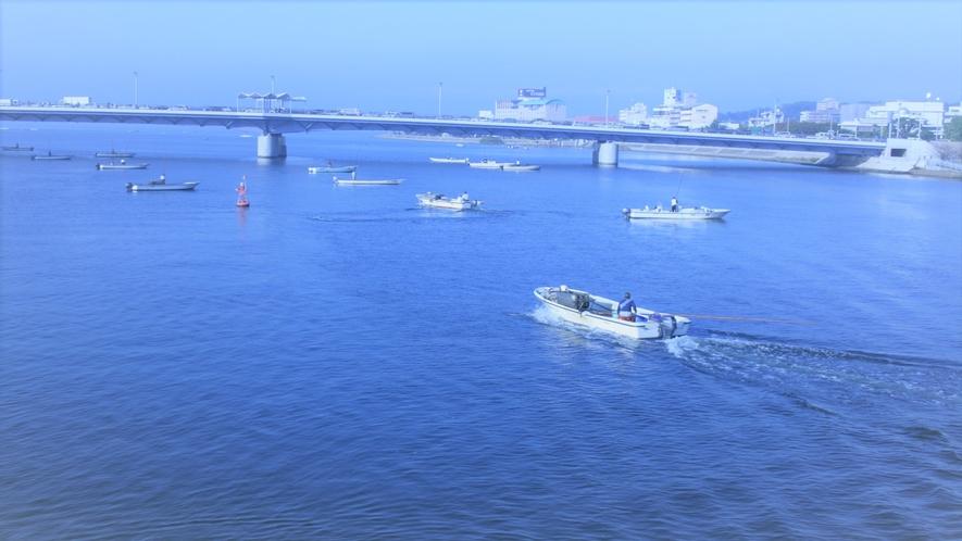 ■宍道湖としじみ船■