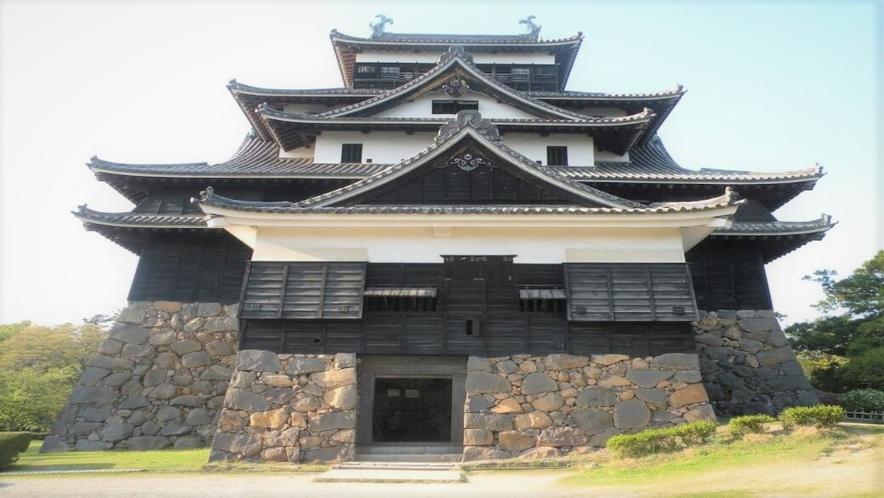 国宝松江城まで徒歩10分