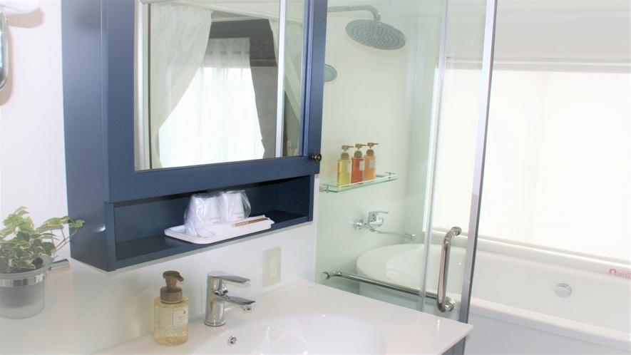 本館DXクイーンルームのお風呂