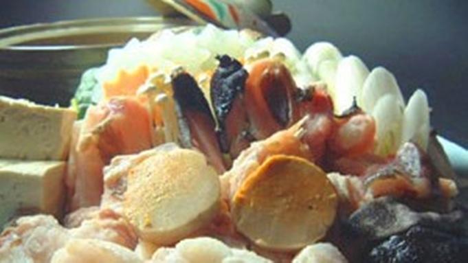 【あんこう尽くしのフルコース】≪あんこうの唐揚げ、鍋、友酢、あんきも≫&前菜、お刺身、雑炊も♪