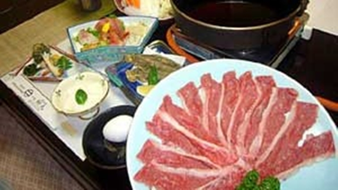 ■豪華グルメ■高級黒毛和牛「常陸牛」を使用の豪華すき焼きプラン