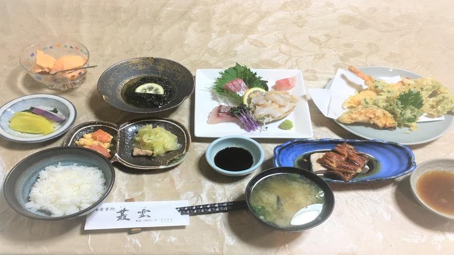 【現金特価】専門店むらくも提携■B:特選宍道湖プラン(料理¥3500!)■刺身盛り合わせ